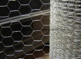 一時塀のための六角形の網