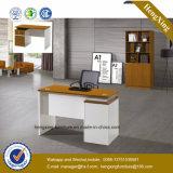Самомоднейшая белизна l стол PC приема офиса формы (HX-GD002)