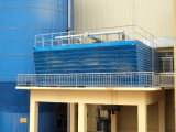 Torre-Yhaw industrial rectangular del agua de la contracorriente (red del chapoteo)