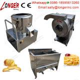 Pommes chips efficaces élevées faisant le prix de machine