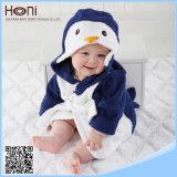 卸し売りOEMの綿の動物のフード付きの赤ん坊の浴衣