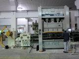 ストレートナが付いているコイルシートの自動送り装置および出版物機械および工作機械のUncoilerの使用