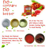Safaのブランドのトマトのりのトマトのりの価格のイランのトマトのり
