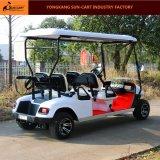 4人の乗客の電気ゴルフカートの観光のゴルフカート