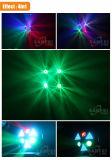 Глаза RGBW 3 двигая головной свет луча