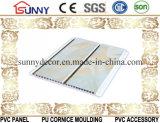 PVCパネルの天井板の装飾の壁パネル(正常な印刷、熱い押すことのラミネーション)