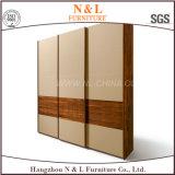 Wardrobe de madeira da mobília quente do quarto do Sell