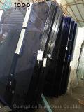 De aangepaste Gordijngevel van het Glas van de Bouw van 6mm10mm Donkerblauwe (C-dB)