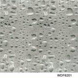 Película hidrográfica imprimible de la impresión PVA de la transferencia del agua de Deisgn el 1m de la gota del agua de Kingtop de par en par para la inmersión hidráulica con el material Wdf7502 de PVA