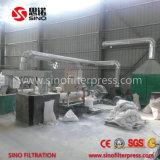 Type rond filtre-presse de plaque d'argile de filtre-presse de plaque hydraulique en céramique de chambre