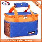 I sacchetti isolati termici del dispositivo di raffreddamento del ghiaccio di piccola corsa portatile promozionale per pranzo, possono, alimento, picnic