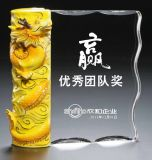 Qualitäts-Fabrik-preiswerte Preis-Kristallglas-Trophäe