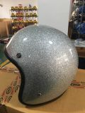 スクーターのための金属の薄片のヘルメット