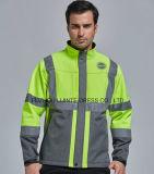 Зима 2 в 1 высоком Workwear куртки безопасности видимости