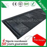 Venda quente nas telhas de telhadura de aço revestidas de pedra de Nigéria/Tanzânia/Kenya/Ghana