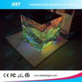 diodo emissor de luz interno da cor cheia do passo de 6mm que anuncia telas para o hotel