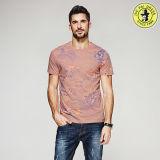 卸売人映像のための最新のデザインOEMサービス100%年の綿の夏のワイシャツはSleをショートさせる