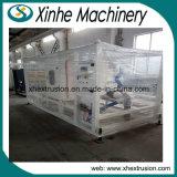 Le PVC en plastique de Jumeau-Vis siffle une à l'extérieur extrusion quatre faisant la ligne de production à la machine