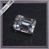 Demande de prix Carat 7.5X5.5mm Clear White Emerald Cut Moissanite Diamond