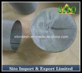 Cilindro do engranzamento do filtro/fio do cartucho do engranzamento de fio do aço inoxidável