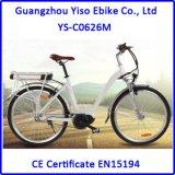 2017 Electric Ebike 8fun 모터를 가진 가장 새로운 Myatu 불안정한 모터 숙녀