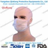 使い捨て可能なNonwoven 1plyの保護マスクおよび医学か病院のマスクQk-FM013