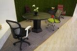 2017 mesas de centro de madeira do estilo elegante com couro (S121)