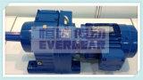 Caja de engranajes de motor eléctrico de engranajes helicoidales de la serie R