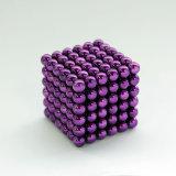 Cubo neo 5mm magnéticos 216 esferas magnéticas do ímã de Neodym da esfera do ímã de Neodym 5mm