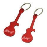 Porte-clés en alliage de zinc Impression compensée personnalisée Logo Promotion Ouverture de bouteille