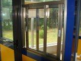 Venster van het Glas van het aluminium het Glijdende met Klamboe