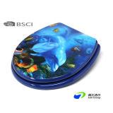 Горячее место туалета шарнира 3D MDF/HDF металла надувательства подтверженное BSCI пластичное