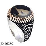Anello dei monili dell'argento sterlina del commercio all'ingrosso 925 della fabbrica