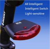 すべての情報処理機能をもったスマートな循環LEDのテールライト