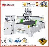 Máquina del ranurador del CNC de 3 pistas Heads&4