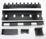 주문을 받아서 만들어진 한 정밀도 부속 또는 각인 부속 또는 기계 부속품