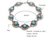 Роскошное блестящее полное ожерелье чокеровщика диаманта цветка Rhinestone