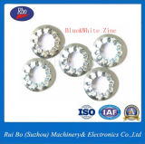 Rondelle à ressort dentelée interne de rondelle plate de rondelle de freinage de l'usine DIN6798j de la Chine