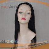 Línea delantera natural atada mano completa peluca del pelo del cordón delantero del pelo humano de las mujeres