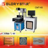 Marcador e gravador do laser das sapatas de couro