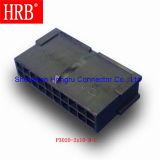 Micro-Caber o plugue que abriga o conetor duplo da fileira sem montagem do painel