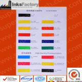 De UVInkt van Silkscreen voor pvc, Huisdier, ABS, BOPP, pp, PE, Acryl, Plastiek