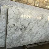 Dessus blancs de granit de fleuve fait sur commande