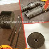 防熱装置のチタニウムの排気ヘッダのターボ多様な管の覆い