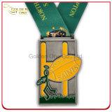 Подгонянный медальон трофея металла спорта конкуренции гонки велосипеда Америка