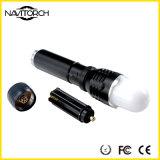 Lanterna elétrica ajustável impermeável do diodo emissor de luz do diodo emissor de luz da estrutura Handheld (NK-1868)