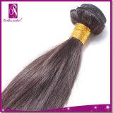 短い長さ200%インドのまっすぐなRemyの毛
