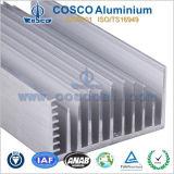 LED 점화를 위해 기계로 가공하는 CNC를 가진 열 싱크를 위한 알루미늄 단면도