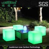 Cubo da mobília do diodo emissor de luz