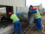 Pollo de acero prefabricado de Contruction vertido con equipos